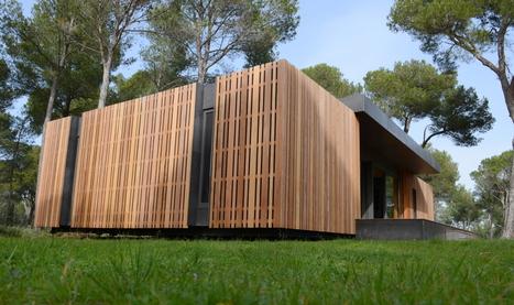 Pop up house un concept de maison passive pré fabriquée par multipod studio france