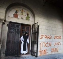 Jewish extremists attack Christian properties in occupied Palestine - Middle East Monitor | The Indigenous Uprising of the British Isles | Scoop.it