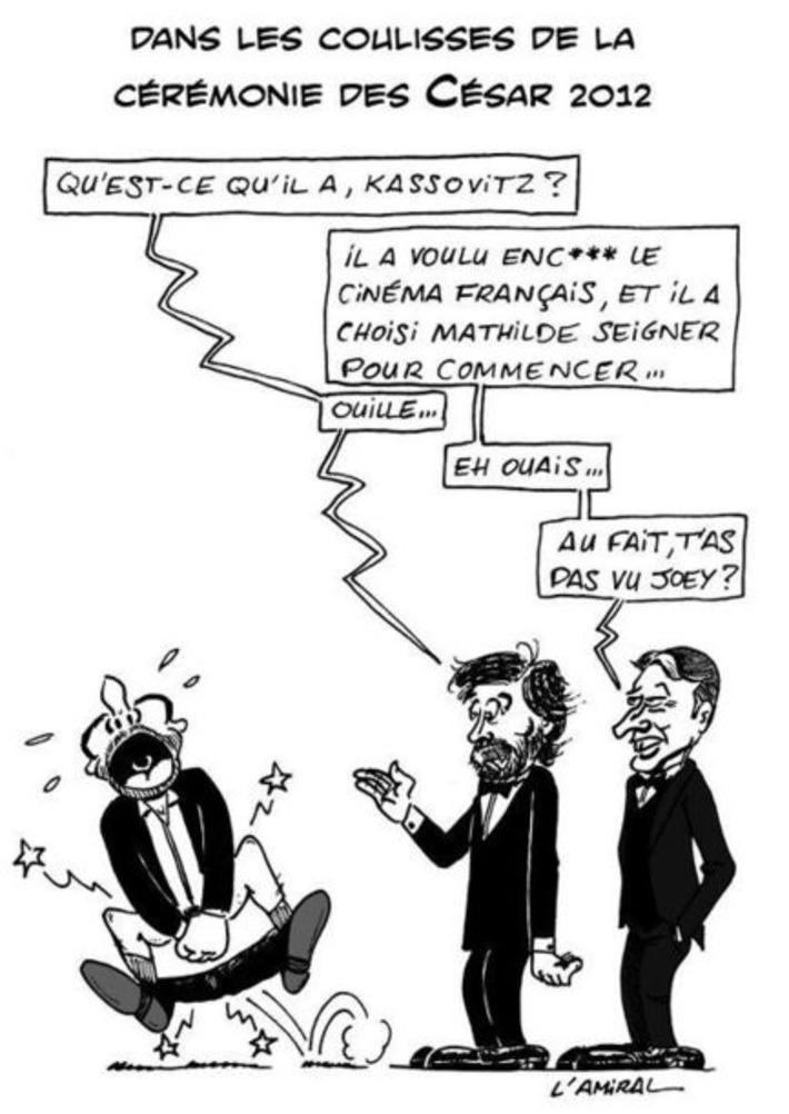 Dans les coulisses de la cérémonie des Césars 2012   Baie d'humour   Scoop.it