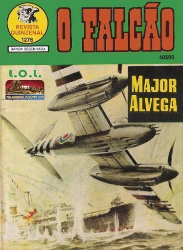 Tralhas Varias: Falcao S2 1276: Major Alvega (1986) | livros electrónicos | Scoop.it