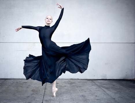 'Bald Ballerina' Keeps Dancing Through a Double Mastectomy and Treatment for Terminal Breast Cancer | Breast Cancer News | Scoop.it