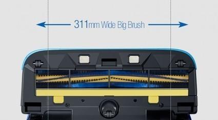 Samsung révèle un nouveau robot aspirateur : le VR9000H «POWERbot» | Les robots domestiques | Scoop.it