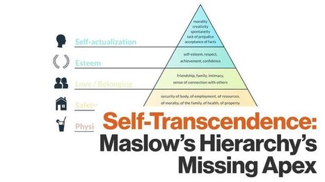 Maslow's Hierarchy of Needs Is Incomplete — There's a Final, Forgotten Stage | Differentiated and ict Instruction | Scoop.it