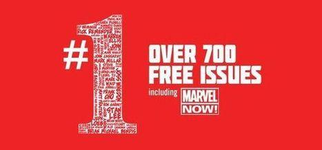 Marvel offre 700 numéros 1 de ses comics en version numérique | Comics France | Scoop.it