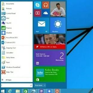 Windows 9 alias Threshold : gratuit avec menu démarrer au printemps 2015 ? | netnavig | Scoop.it