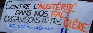 Fioraso à Strasbourg : étudiants, personnels et syndicats de la FSU et de SUD-Solidaires mobilisés pour dire NON à l'austérité ! | Enseignement Supérieur et Recherche en France | Scoop.it