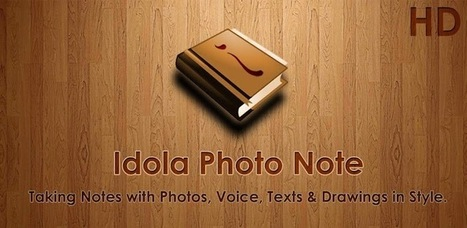 Idola Photo Note HD - Lite - Applications Android sur GooglePlay | Android Apps | Scoop.it