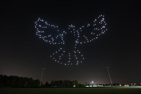Le spectacle de (300) drones d'Intel fait ses débuts chez Disney | Des robots et des drones | Scoop.it