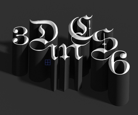 Playing with 3D in Photoshop CS6 | Abduzeedo | Graphic Design Inspiration and Photoshop Tutorials | Crazy 4 Photoshop | Scoop.it