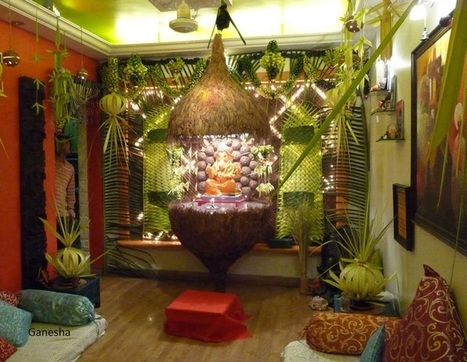 new ganesh chaturthi decorations ideas at home