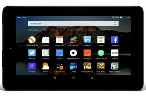 Amazon lance une tablette à moins de 60 euros | Veille Hadopi | Scoop.it