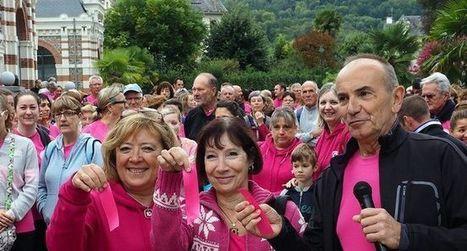 Quand octobre  passe au rose   Revue de presse de la Vallée d'Argelès-gazost   Scoop.it