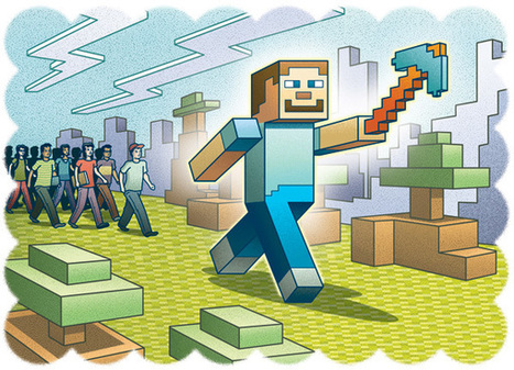 MinecraftEdu Takes Hold in Schools | all things teacher librarian | Scoop.it