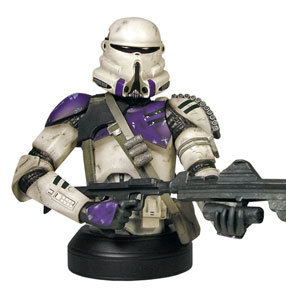 Airborne Trooper Mini Bust at StarWarsShop   All Geeks   Scoop.it