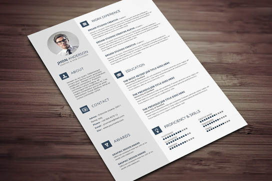 best resume templates in 2015    docx   psd