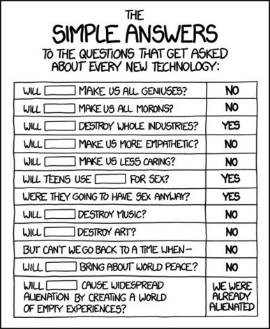 xkcd: Simple Answers | Prendi eLearning - Education, Technology, iPads... | Scoop.it