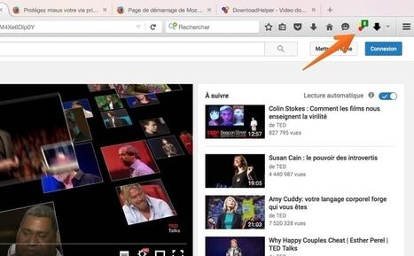 Downloadhelper. Une extension pour télécharger les vidéos depuis le web | Geeks | Scoop.it