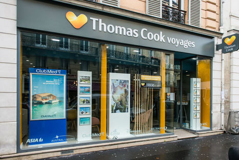LSA : Thomas Cook dévoile un nouveau concept d'agence de voyages connectée [En images] | Retail Design Review | Scoop.it
