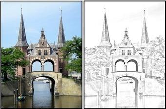 Maak met Pixlr kleurplaten van je eigen foto's. | Nieuwsbrief H. van Schie | Scoop.it