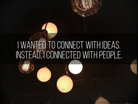 Why I Stay Connected   Education Rethink   Pedagogy in New Learning Environments   Scoop.it