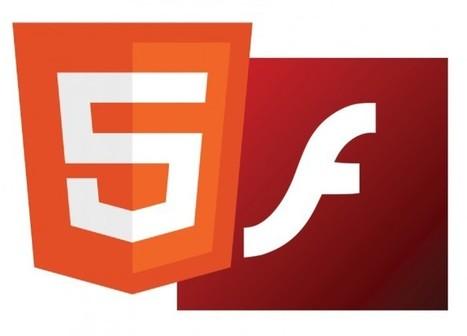 Adiós Flash… ¡Bienvenido HTML5! - PoderPDA   Herramientas Desarrollo Web   Scoop.it