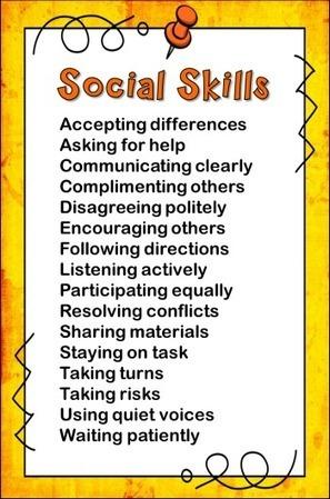 Teaching Social Skills | Literacias sec XXI | Scoop.it