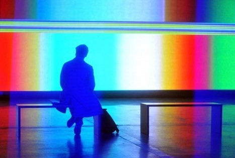 A Colour Field Point of No Return – Matthew Biederman's Event Horizon   Visual Culture and Communication   Scoop.it