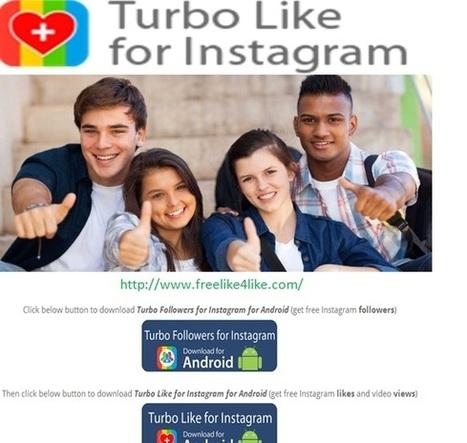 Turbo Likes For Instagram