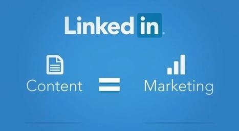 Linkedin lance 2 nouveaux outils concernant les contenus publiés - #Arobasenet   Au fil du Web   Scoop.it