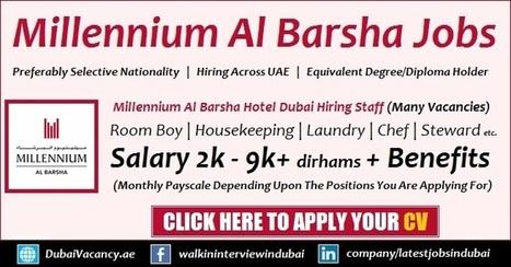 Millennium Hotel Dubai Careers Al Barsha Height