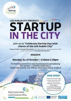 StartUp in the City from LEO - DublinCity, latest line up of business speakers #startupirl   Doing business in Ireland   Scoop.it