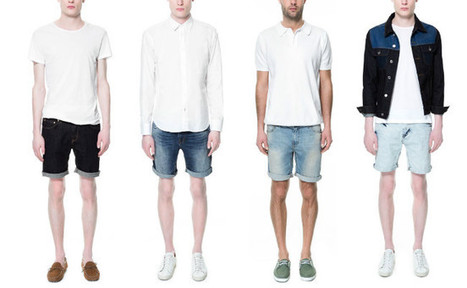 Bermuda Trends for Men Spring-Summer 2013 by Zara ~ Men Chic- Men's Fashion and Lifestyle Online Magazine | Men's Fashion Trends | Scoop.it