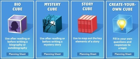 Cube Creator   readwritethink   EFL-ESL, ELT, Education   Language - Learning - Teaching - Educating   Scoop.it