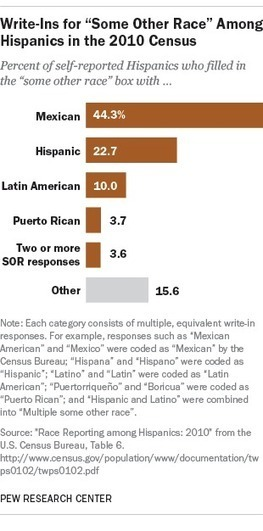 'Mexican,' 'Hispanic' and 'Latin American' top list of race write-ins in the 2010 census | Spanish in the United States | Scoop.it