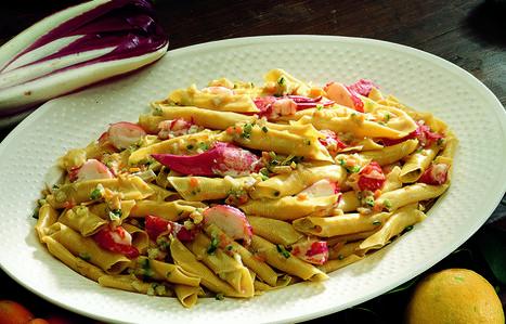 Ricetta Garganelli con astice, verdure e limone - Le ricette de La Cucina Italiana   La Cucina Italiana - De Italiaanse Keuken - The Italian Kitchen   Scoop.it