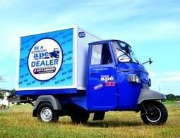 Piaggio brings biz-utility, people carrier vehicle to PH | Vespa Stories | Scoop.it
