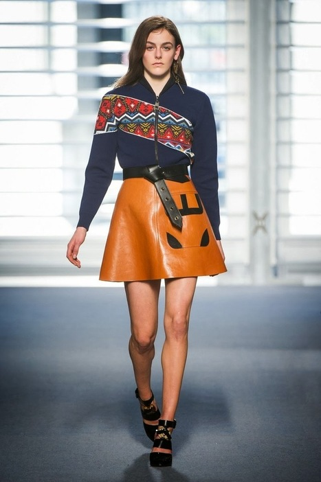 LOUIS VUITTON - Fall Winter 2014/15 - Paris Fashion Week | TAFT: Trends And Fashion Timeline | Scoop.it
