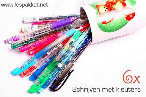 6x Schrijven met kleuters | onderwijsideeën op het web | Scoop.it