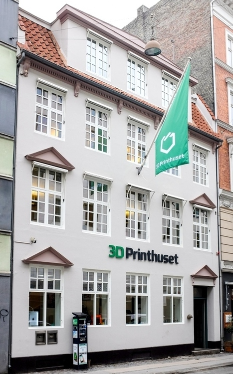 La plus grand magasin d'impression 3D ouvre ses portes au Danemark | FabLab - DIY - 3D printing- Maker | Scoop.it