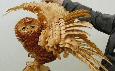 Increíbles esculturas de madera - Planeta Red | Arte Hoy | Scoop.it