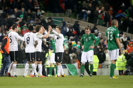 World Cup Sucker Punch?: Rep Of Ireland 2-2 Austria – Late Alaba Strike Breaks ... | Diverse Eireann- Sports culture and travel | Scoop.it