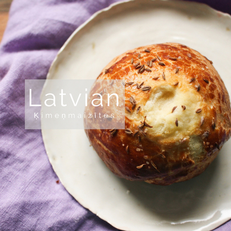 Latvian cuisine scoop my first attempt at latvian imemaiztes caraway buns suzie the foodie latvian cuisine forumfinder Image collections
