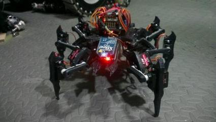3D printing out a hexapod | Let's Make Robots! | 3D Printing and Fabbing | Scoop.it