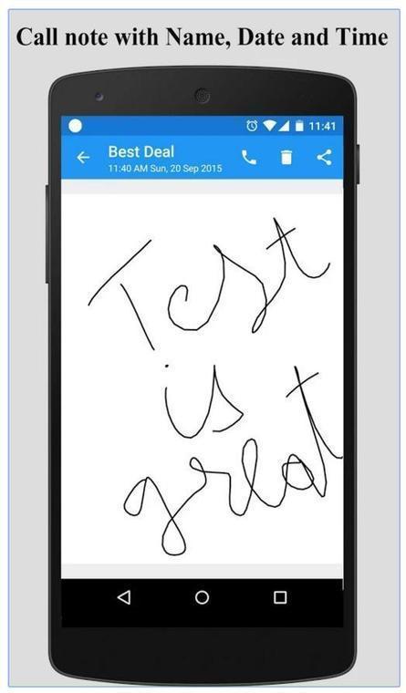 Prendre des notes pendant un appel sur un téléphone Android, Call Writer   François MAGNAN  Formateur Consultant   Scoop.it
