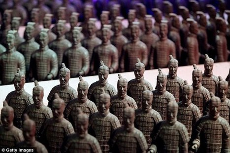 China's Chocolate Theme Park: The Terracotta Army | Visual*~*Revolution | Scoop.it