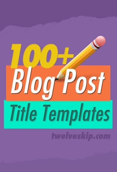 100+ Clever Blog Post Title Templates That Work | Productivity Ideas & Tools | Scoop.it