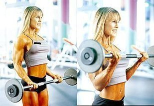 Biceps Workout (1) - Barbell Curl  9991443d089
