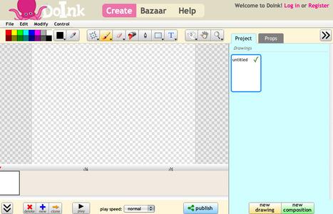 Create Animations, Make Friends | DoInk.com | Edu 2.0 | Scoop.it