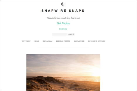 10 Free High Quality Stock Photography Websites That You Should Bookmark | eLearning | Scoop.it