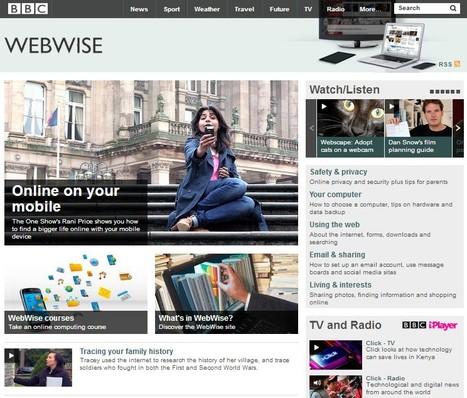 BBC WebWise - Plenty of free tutorials   iEduc   Scoop.it